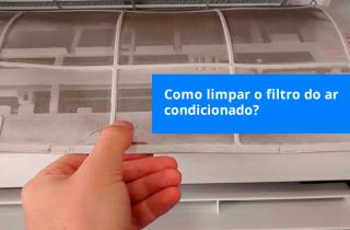 como limpar o filtro do ar condicionado.fw
